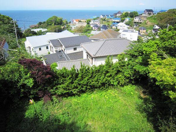 【横須賀市南葉山ハイツ】|土地:4750万円|緑から青へと。パノラマビュー。