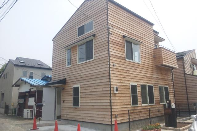 湘南の一戸建て。湘南に似合う木の家※おかげさまでご成約となりました。