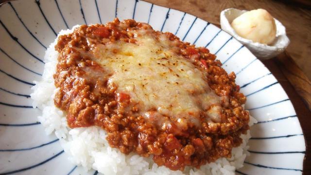 「キーマカレー」@ひより食堂