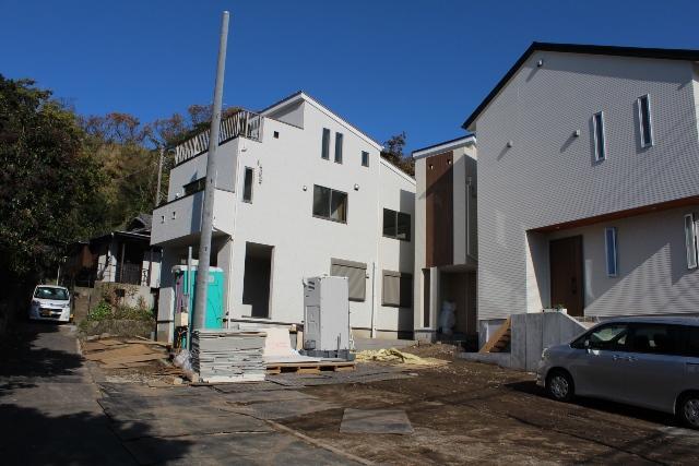 葉山町堀内 新築戸建 ご成約『青空広がるスカイバルコニー』