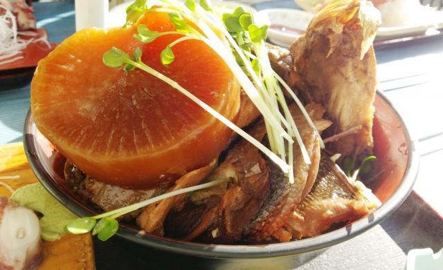 「ブリのあら煮定食」@ゆうき食堂