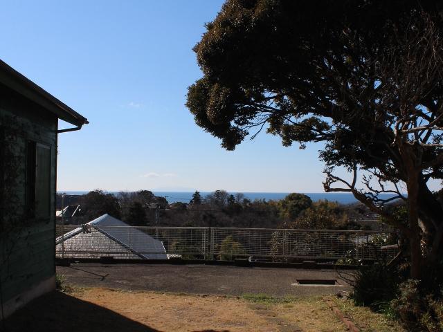 鎌倉山|土地|7600万円『高台のゆとりある敷地から海一望』