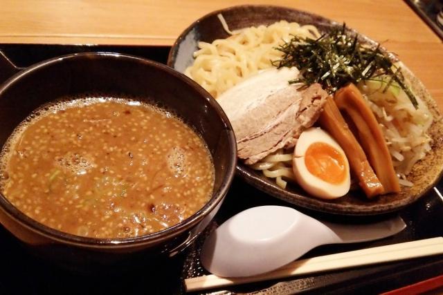 「ごまつけ麺(全部のせ)」@絆心