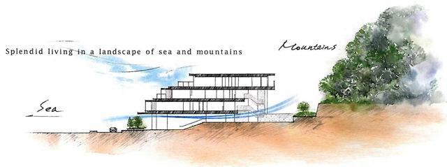 葉山町堀内 マンション ご成約 海と山のあいだに。