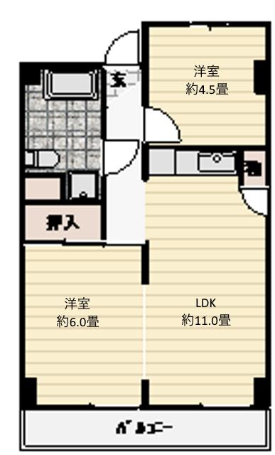※おかげさまでご成約となりました!フルリフォーム2LDK湘南マンション辻堂東海岸で海近い物件です