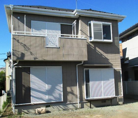 茅ケ崎市矢畑、庭先の広いリフォーム済み中古住宅