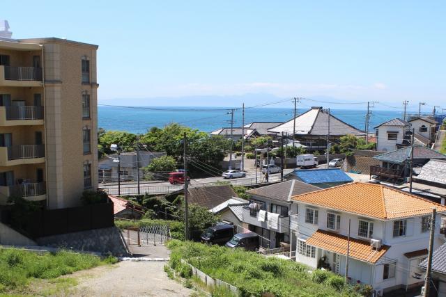 【横須賀市秋谷】|土地:ご成約|久留和海岸すぐ、500坪超の大空間