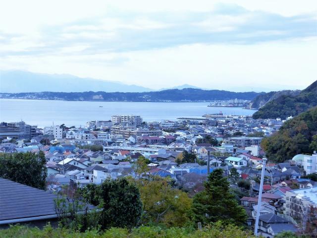 【葉山町堀内】|土地:7900万円|海を一望する約108坪・夜景を見たい