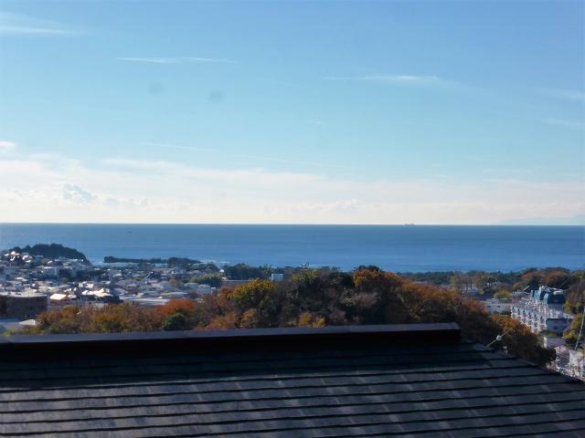【葉山町堀内】|土地:ご成約|毎日の景色が葉山の海が見える景色へ