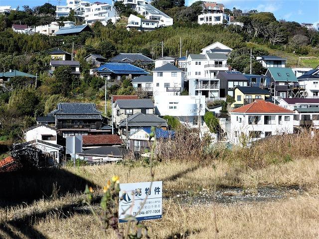 横須賀市秋谷|売地|2680万円|湘南の海を高台から望む土地