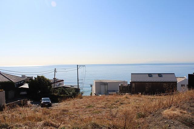【横須賀市秋谷】|売地:40000万円|秋谷の海を望む540坪の土地