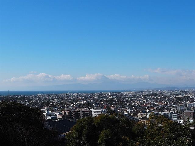 【藤沢市片瀬山】|土地:ご成約|湘南西部を一望