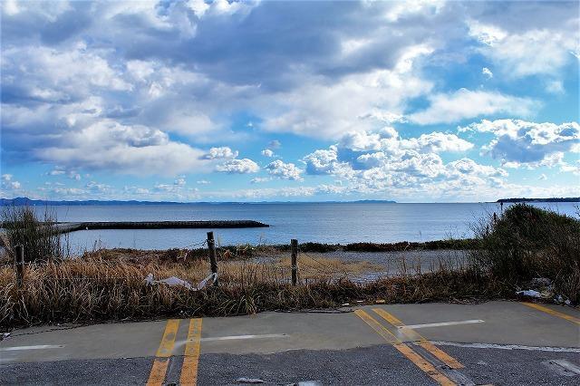【横須賀市長沢】|土地:4980万円|目前に広がる景色は海