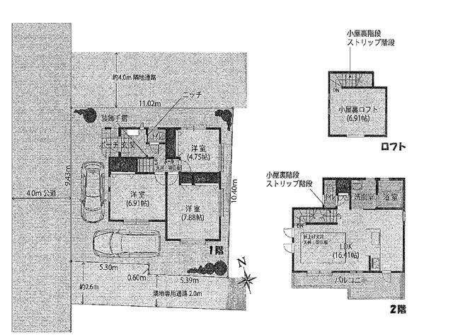 辻堂東海岸2丁目、充実設備のデザイナーズ住宅