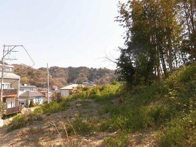 葉山町一色|売地|3480万円|高台の約150坪をどう使う?