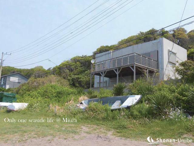 【三浦市初声町和田】|リゾート戸建:13000万円|ビーチ前のRC造
