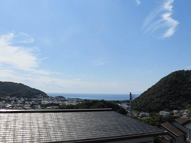 葉山町堀内|土地|2600万円|登った先にある景色