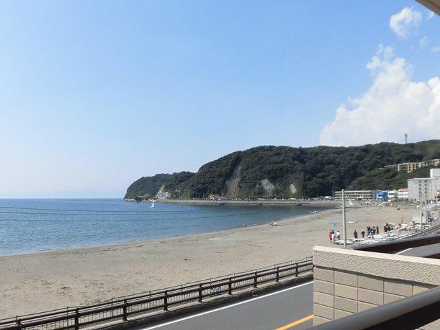 逗子市新宿|マンション|3580万円|目の前は砂浜と海