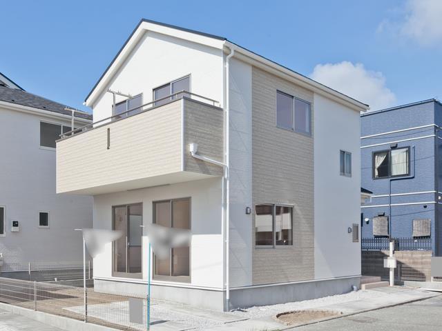 藤沢市鵠沼海岸新築一戸建て全3棟販売・完成済み!海まで徒歩約3分(約190m)!☆お陰様でご成約となりました!!
