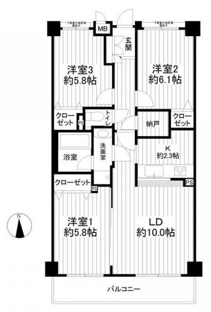 【おかげさまでご成約となりました】海まで徒歩2分ニューイースト湘南茅ヶ崎310号室フルリフォーム済
