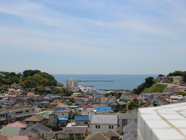 横須賀市秋谷|マンション|2380万円|爽やかな南風の景色