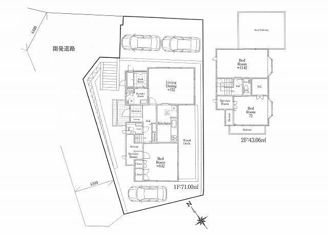 古都鎌倉☆緑豊かで閑静な住宅街!土地面積約65.88坪