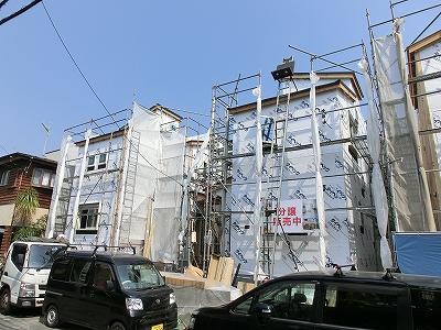 片瀬海岸3丁目新築一戸建て3LDK残り1棟海まで徒歩約6分♪【価格変更】
