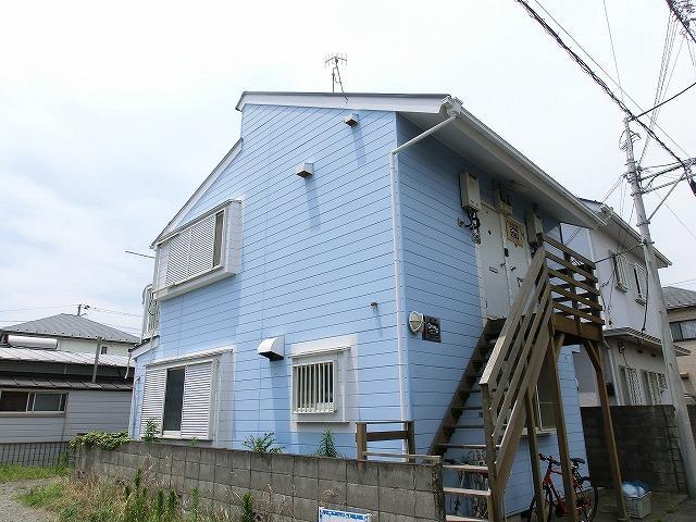 海まで10分!辻堂東海岸賃貸アパート1Rロフト付48,000円