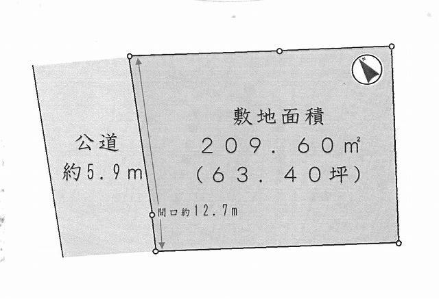 【おかげさまでご成約となりました】茅ヶ崎市下町屋の土地敷地面積63坪整形地・建築条件なし※※※※万円