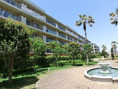 辻堂西海岸のマンショングランシティ湘南海岸Ⅱ4,080万円!!海近です♪
