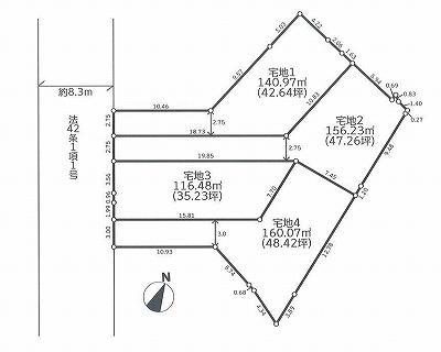 藤沢市辻堂元町4丁目JR東海道線「辻堂」駅徒歩14分建築条件付き土地販売全4区画です。