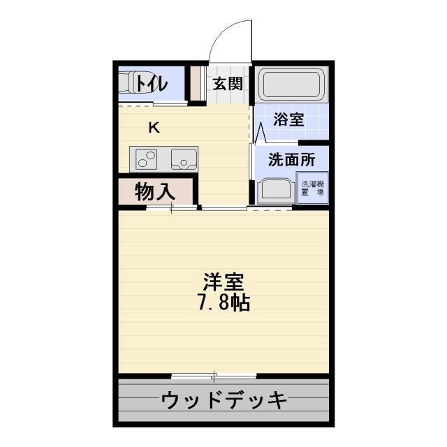 腰越駅より徒歩2分SunCity腰越築浅貸アパート1K賃料60,000円海近です!