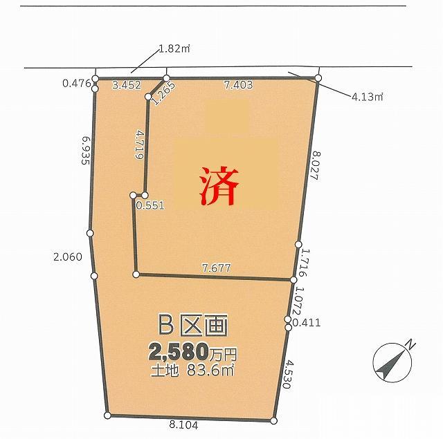 辻堂駅より徒歩14分辻堂5丁目建築条件なし土地海まで徒歩16分!!