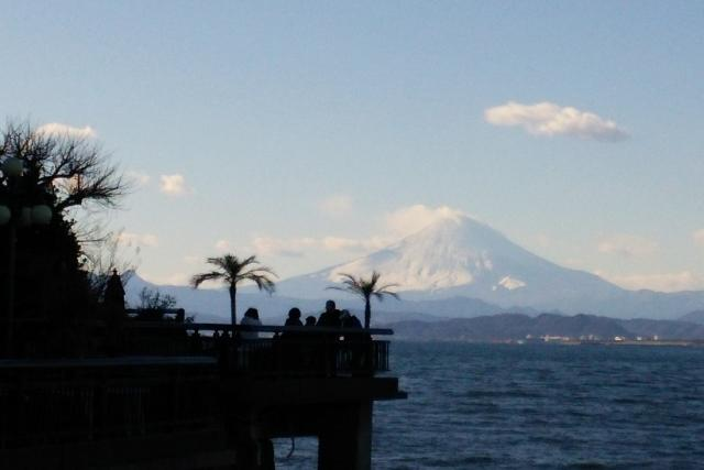 行き過ぎ江ノ島(29.1.18)