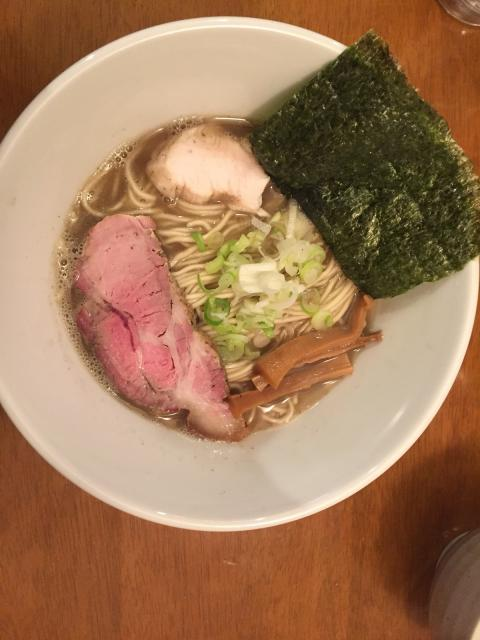 横須賀の煮干しラーメン(29・11・19)